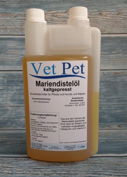 Mariendistelöl für Pferde