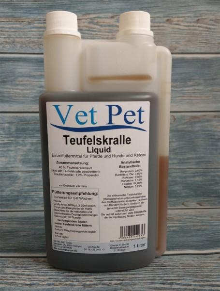 Teufelskralle flüssig für Pferde und Hunde